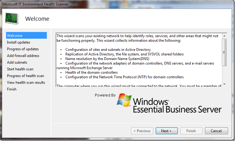Microsoft IT Environment Health Scanner is released – The