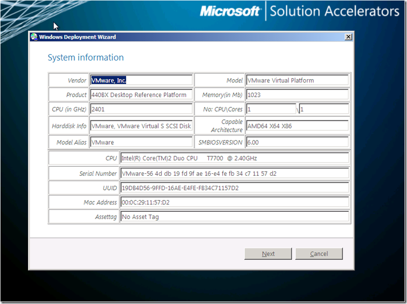Modifying the Lite Touch Wizard in MDT 2010 – Sample 2