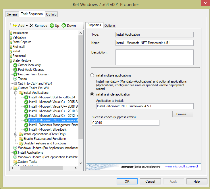 .NET Framework 4.5.1 de manera Offline