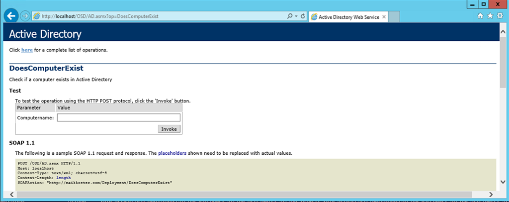 PowerShell is King – Testing OS Deployment Web Services