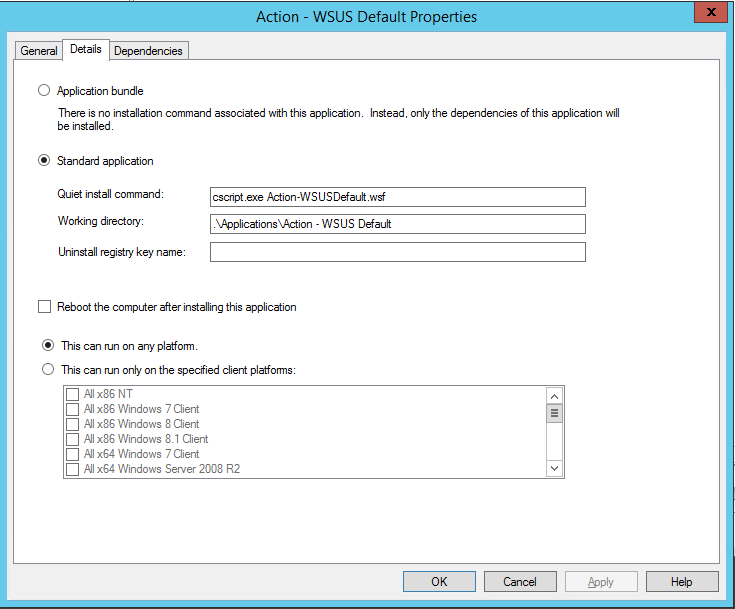 Nice to Know – Reset WSUS settings after OSD in MDT – The