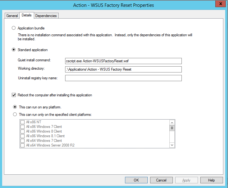 """Nice to Know – Reset WSUS to """"Factory Default"""" settings"""