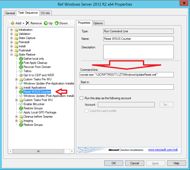 Nice to Know – Reset the WSUS update Count during OSD