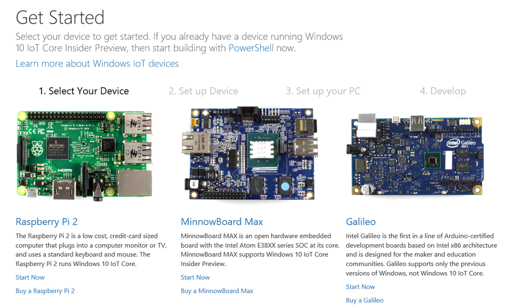 Nice to Know – Deploying Windows 10 IoT to a Raspberry PI 2
