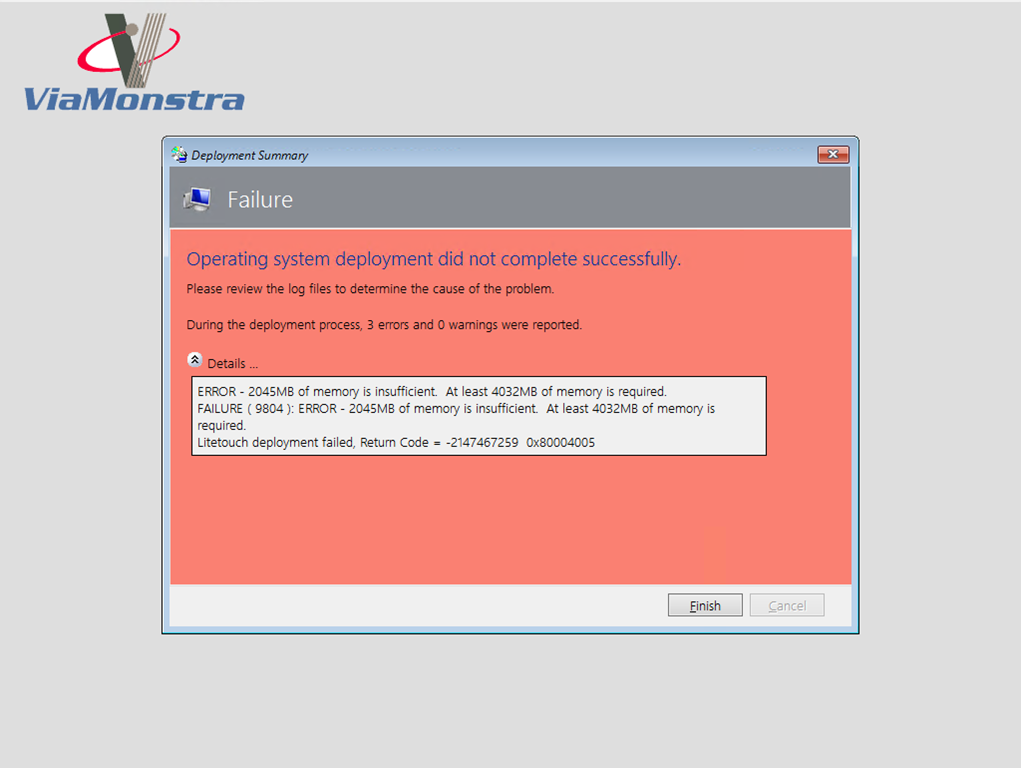 OS Deployment using MDT – Inside the Validation Step – The
