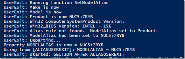 OSD Deployment – Deploying Intel NUC and getting drivers and