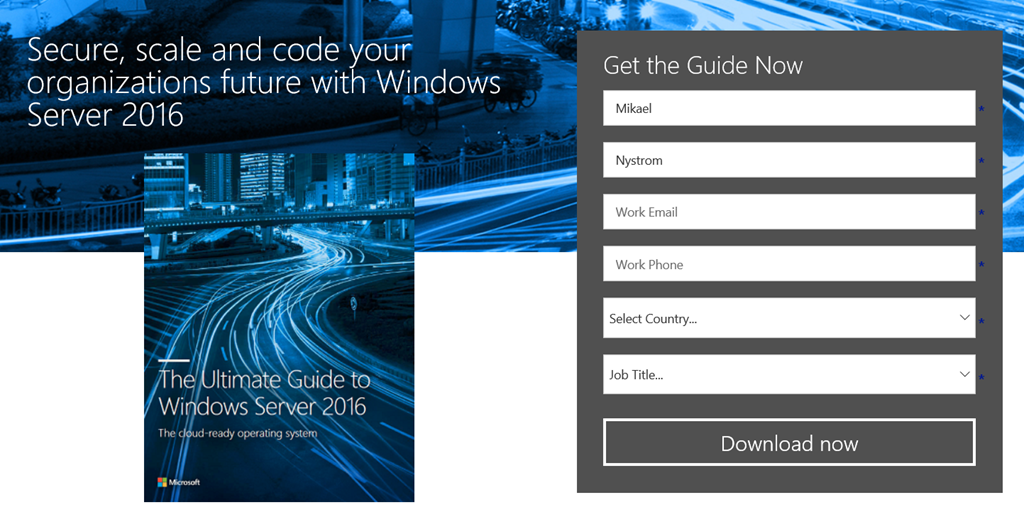 Nice to know the ultimate guide to windows server 2016 the an other e book that you can download from here httpsblogsdnmicrosoftmicrosoftpress20160926free ebook introducing windows server 2016 fandeluxe Epub