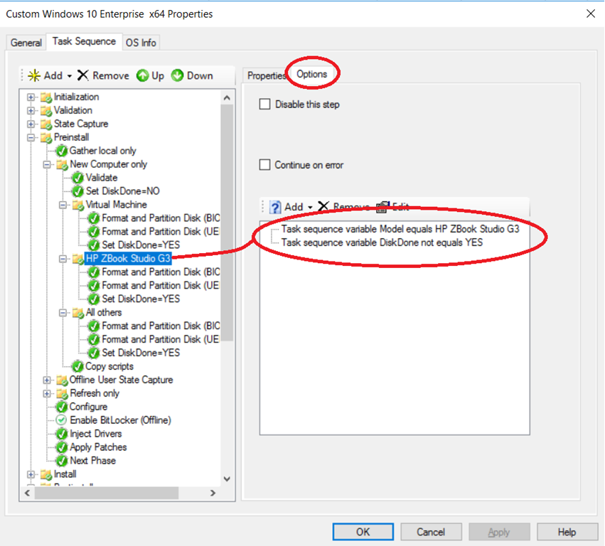 OSD – Conditional disk layout (based on model) – The Deployment Bunny