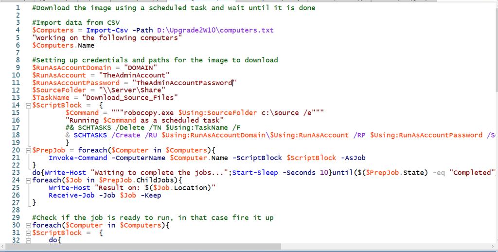 Nice to Know – Mass upgrading Windows 10 Using PowerShell – The